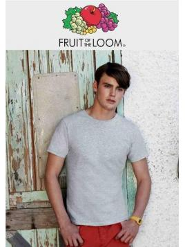 Fruit Fitted Valueweight Tee